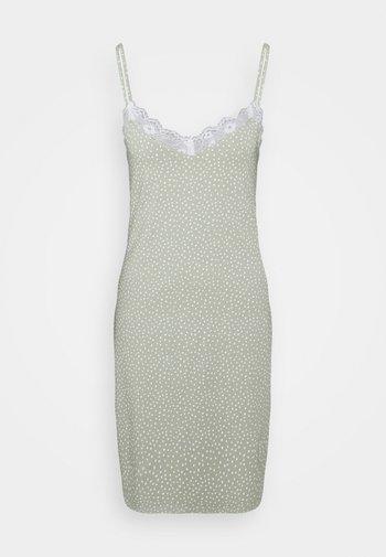 NIGHT DRESS SLIP JOLO - Nightie - dusty green