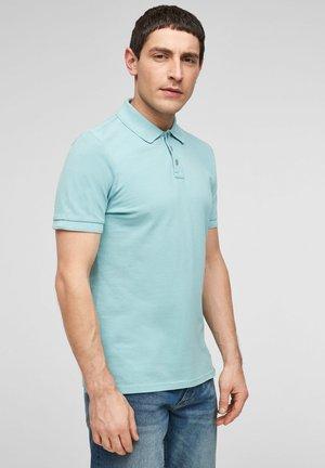 Polo shirt - mineral blue