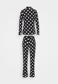 Anna Field - JERSEY AMANDA  - Pyjama - black/white - 1