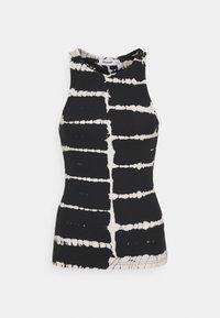STELLA TANK - Top - black tie dye