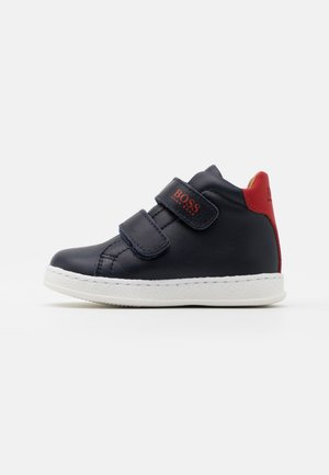 TRAINERS - High-top trainers - poppy