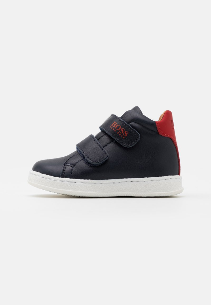 BOSS Kidswear - TRAINERS - Baskets montantes - poppy