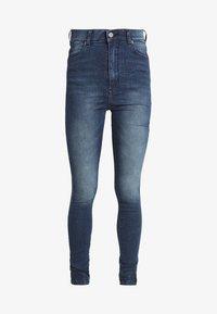 MOXY - Jeansy Skinny Fit - worn dark blue