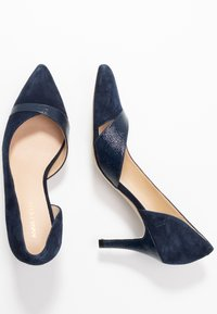 Anna Field Wide Fit - LEATHER CLASSIC HEELS - Pumps - dark blue - 3