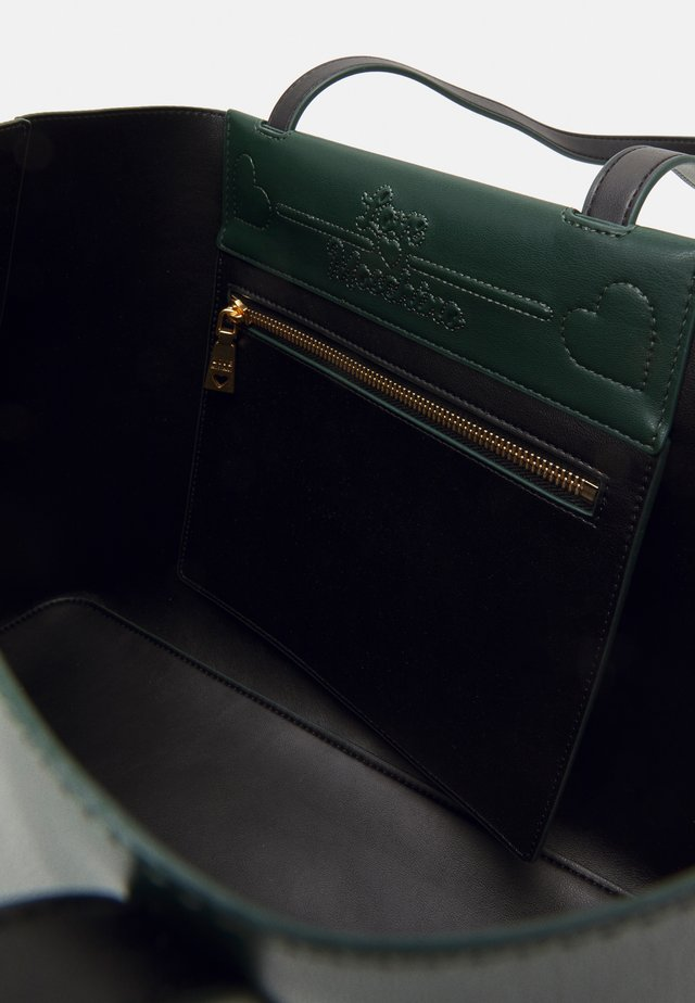 THE NEW LETTERING - Handbag - verde