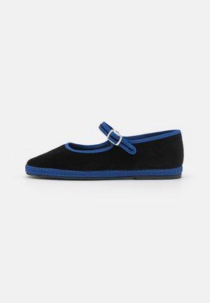 MARY JANE FURLANE - Loaferit/pistokkaat - black/blue