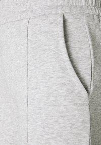 JDY - JDYLINE PINTUCK SWEAT PANT  - Tracksuit bottoms - light grey melange - 2