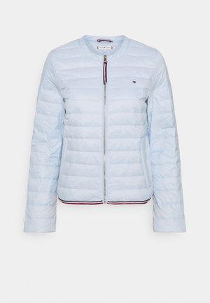 COLLARLESS - Down jacket - breezy blue