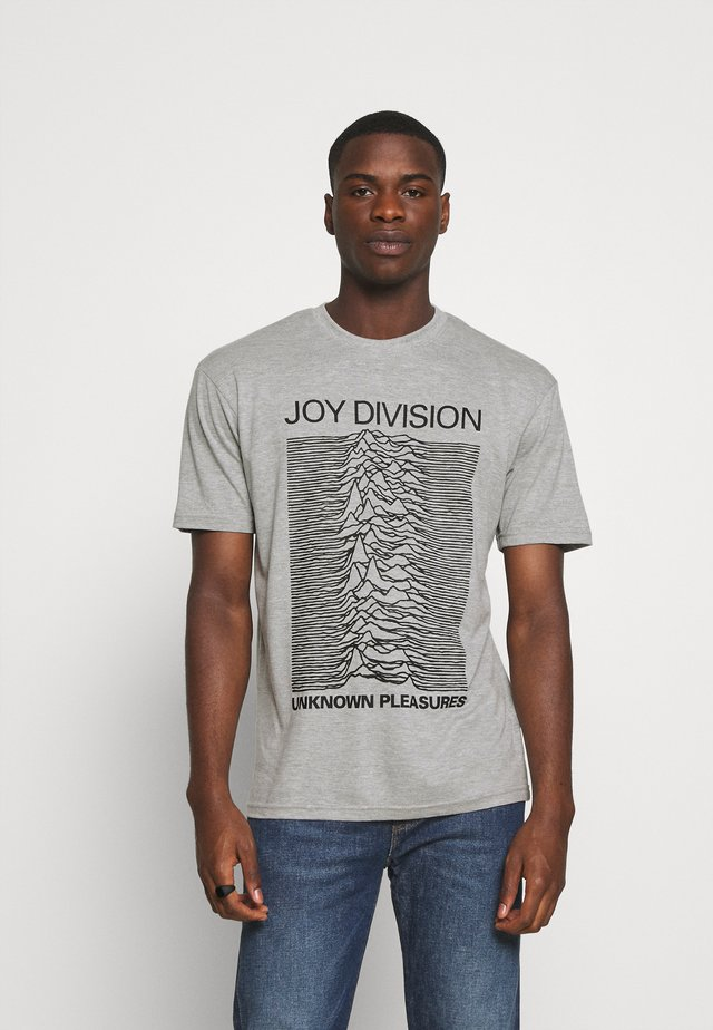 JOY DIVISION - T-shirt z nadrukiem - grey marl