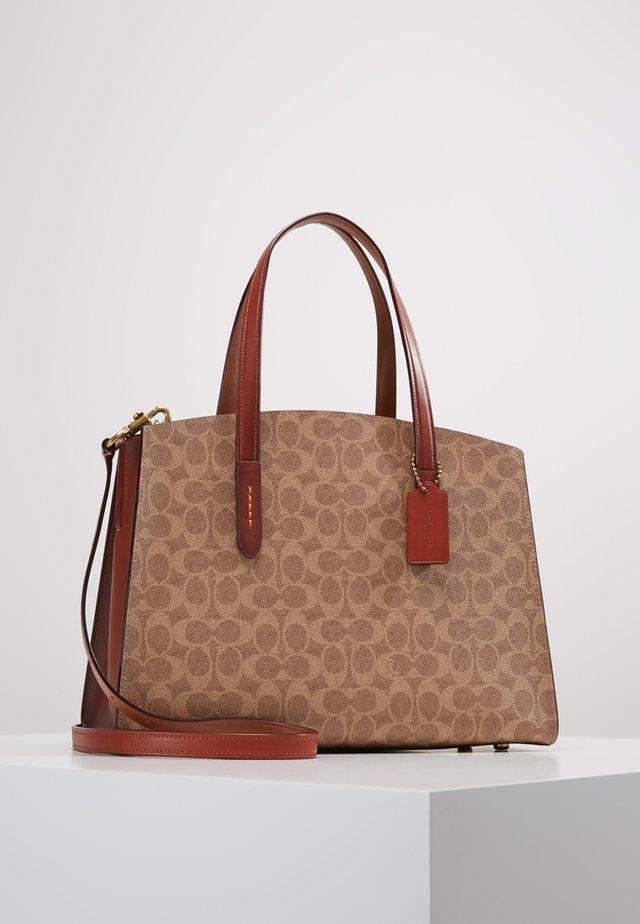 CHARLIE - Handtasche - rust