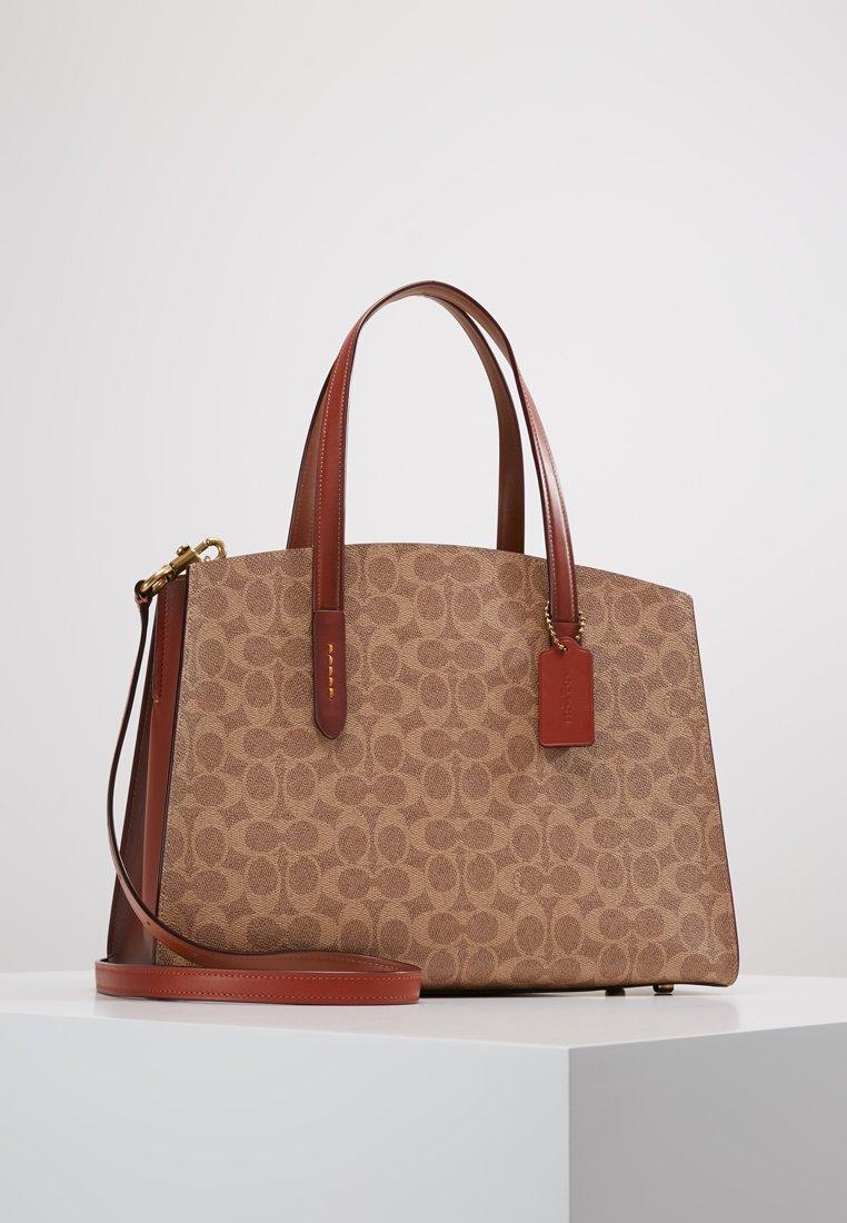 Coach - CHARLIE - Handbag - rust