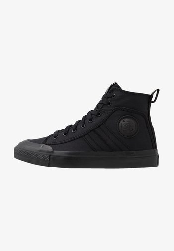 ASTICO S-ASTICO MID LACE - High-top trainers - black