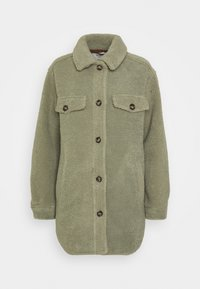 b.young - BYCHALI COAT - Short coat - seagrass - 0