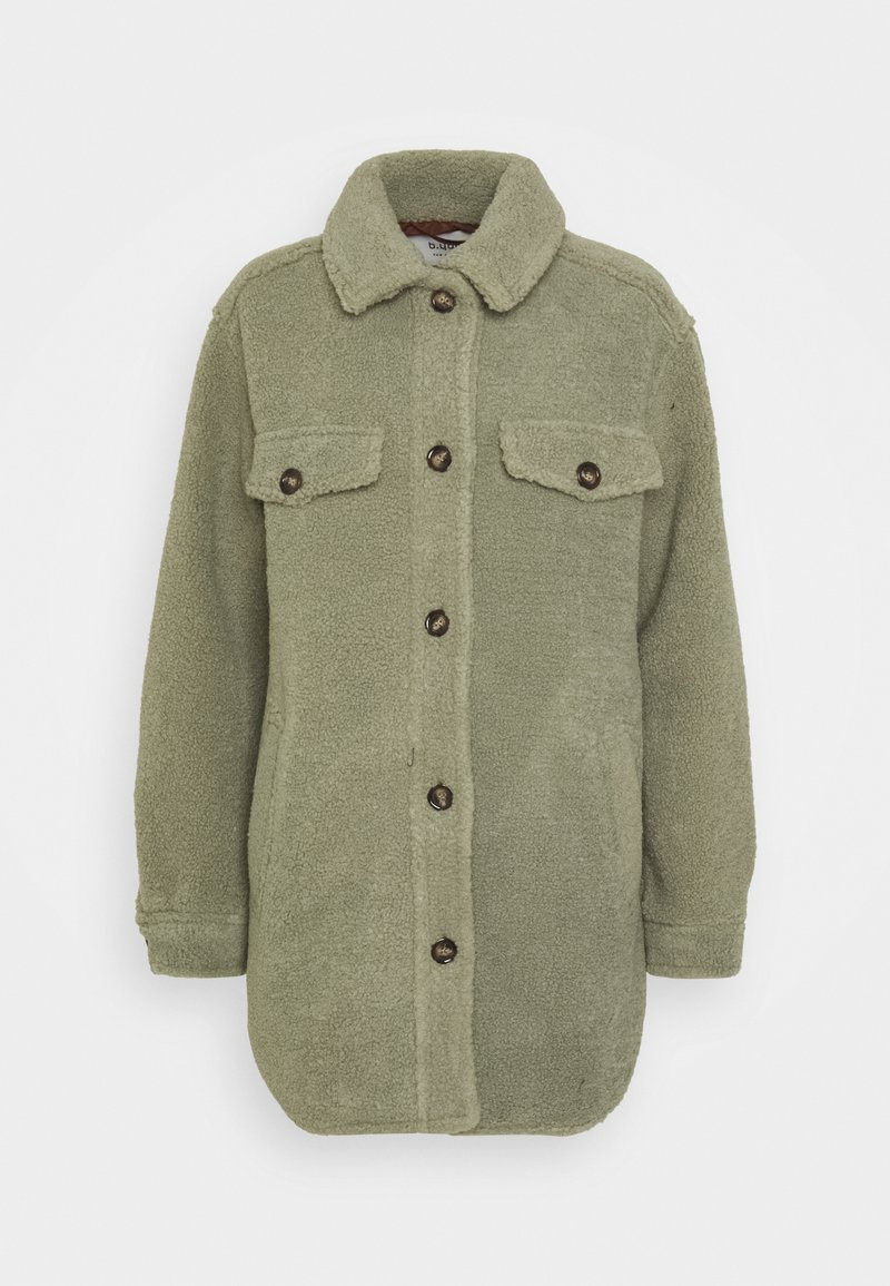b.young - BYCHALI COAT - Short coat - seagrass
