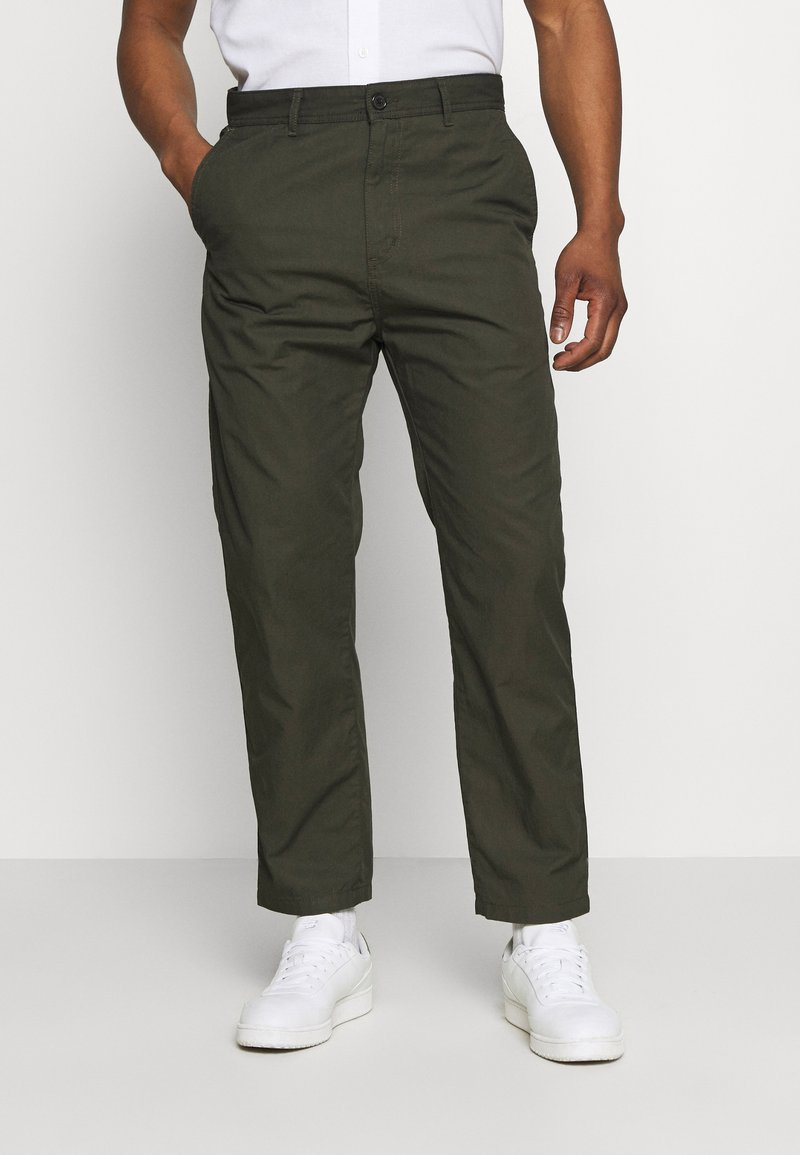 Carhartt WIP - MENSON PANT MOSQUERO - Chinos - cypress rinsed