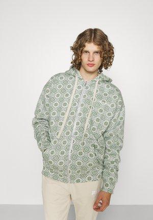 MOSAIC OVERSIZED JACKET UNISEX - Zip-up sweatshirt - green