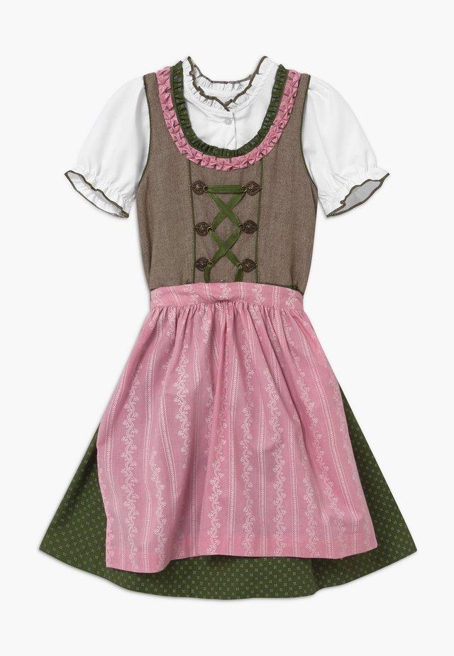 Oktoberfestklær - rosa