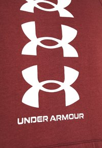 Under Armour - RIVAL MULTILOGO - Hoodie - cinna red/onyx white - 6