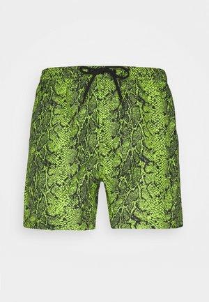 MAMBA - Swimming shorts - green/black