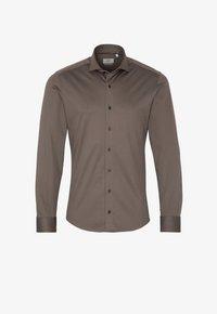 Eterna - SLIM FIT - Formal shirt - taupe - 3