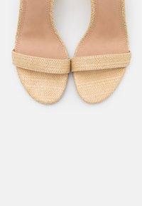 Dune London - MADAM - High heeled sandals - natural - 5