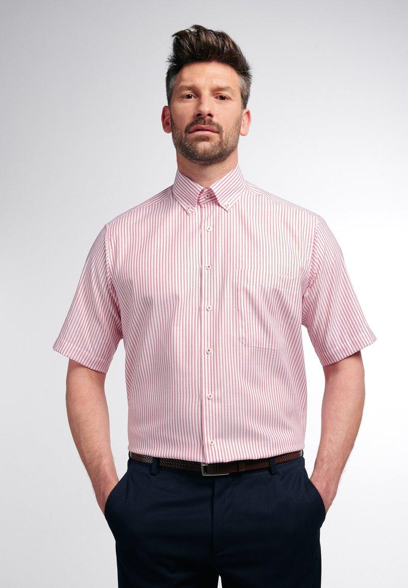 Eterna - COMFORT FIT - Shirt - rot/weiss