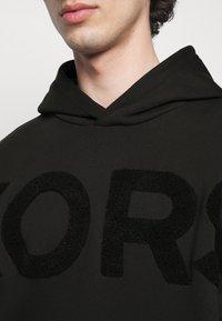 Michael Kors - LOGO HOODIE - Sweatshirt - black - 5