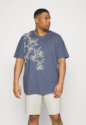 JPRBLAGOA PLACEMENT TEE  - T-shirt con stampa - atlantic blue