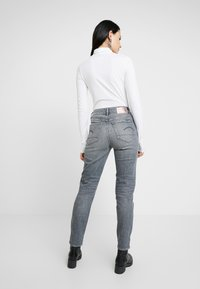 G-Star - 3301 HIGH STRAIGHT 90S - Jeans straight leg - faded pebble grey - 2