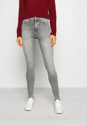 ONLBLUSH HIGH WAIST - Jeans Skinny Fit - grey denim