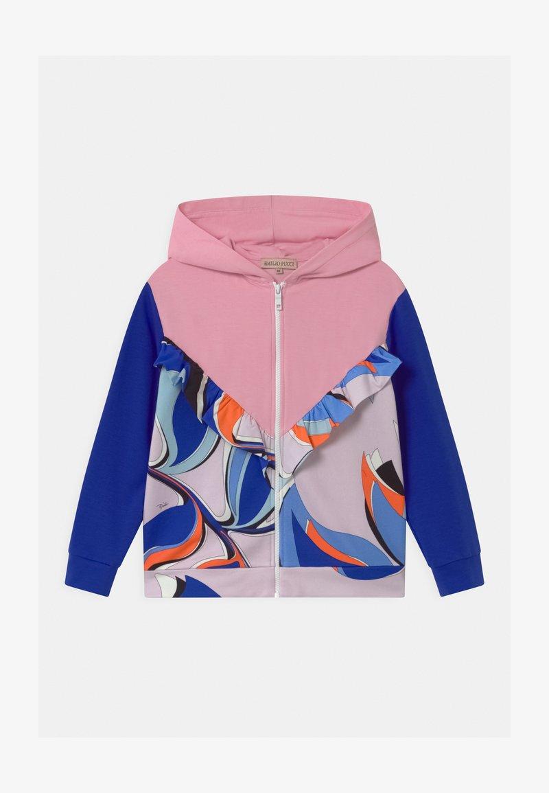 Emilio Pucci - Zip-up sweatshirt - light pink