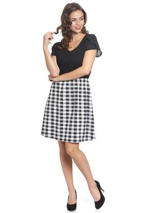 VICHY FANTASY - Jumper dress - schwarz/allover
