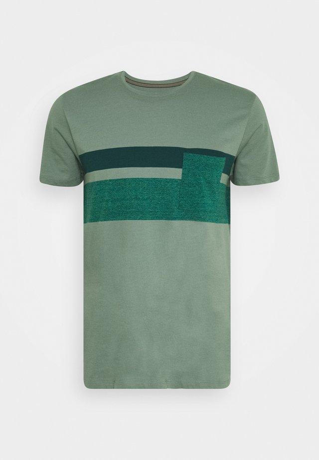 Camiseta estampada - light khaki