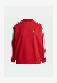 adidas Originals - ADICOLOR ORIGINALS SLIM PULLOVER - Sweatshirt - red - 7