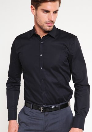 OLYMP NO.6 SUPER SLIM FIT - Shirt - schwarz