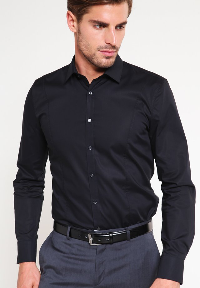 OLYMP NO.6 SUPER SLIM FIT - Camicia - schwarz