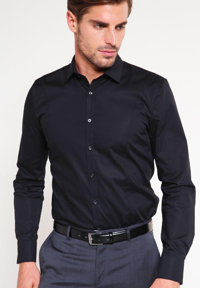 OLYMP No. Six - OLYMP NO.6 SUPER SLIM FIT - Shirt - schwarz