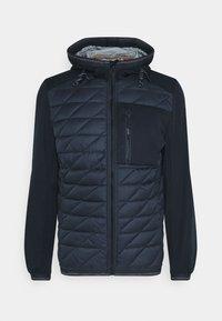 TOM TAILOR - HYBRID JACKET - Light jacket - sky captain blue - 0