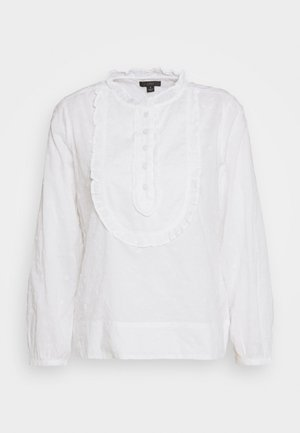 BRENDA BLOUSE BABY'S BREATH VOILE - Blouse - white ivory