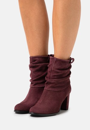 Classic ankle boots - brunello