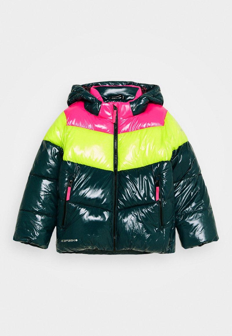Icepeak - LAMONI UNISEX - Snowboard jacket - antique green
