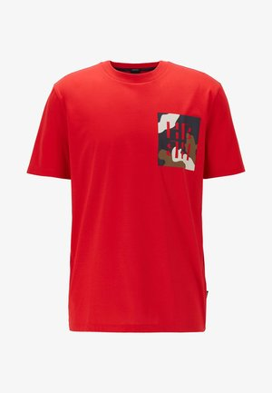 TAMES 12 - Print T-shirt - red