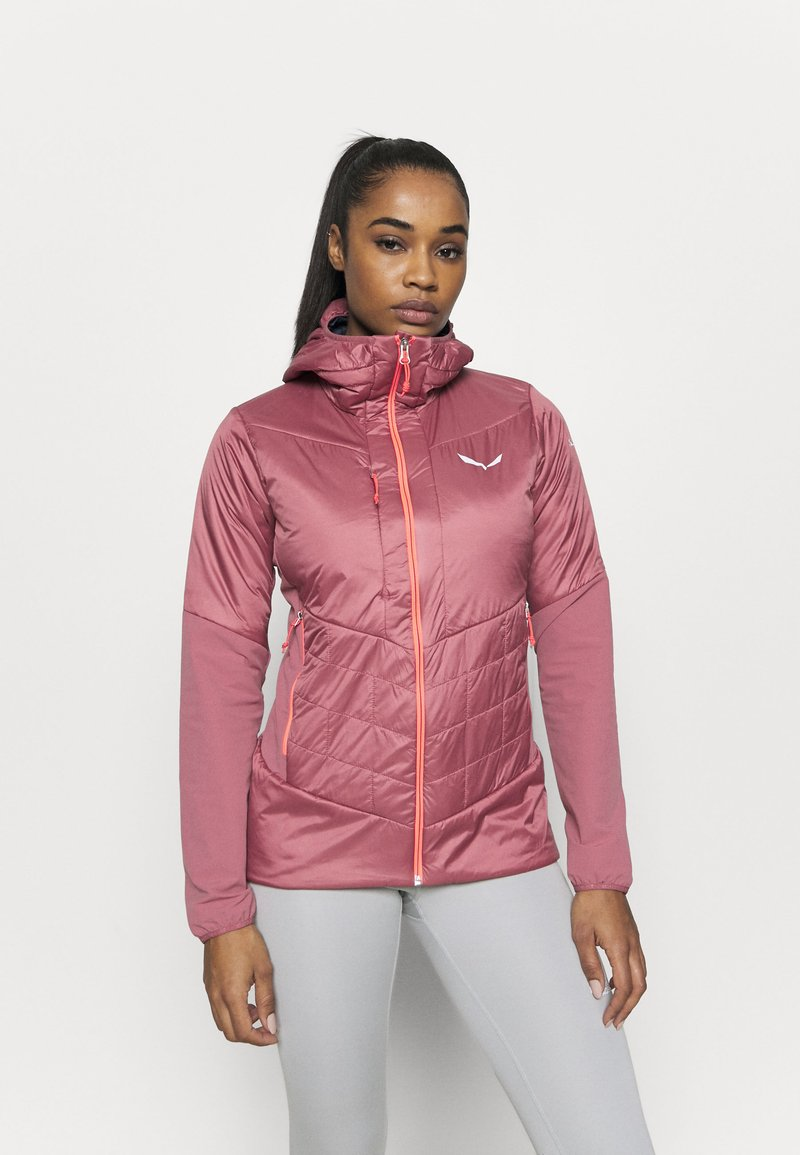Salewa - ORTLES HYBRID - Outdoor jacket - mauvemood