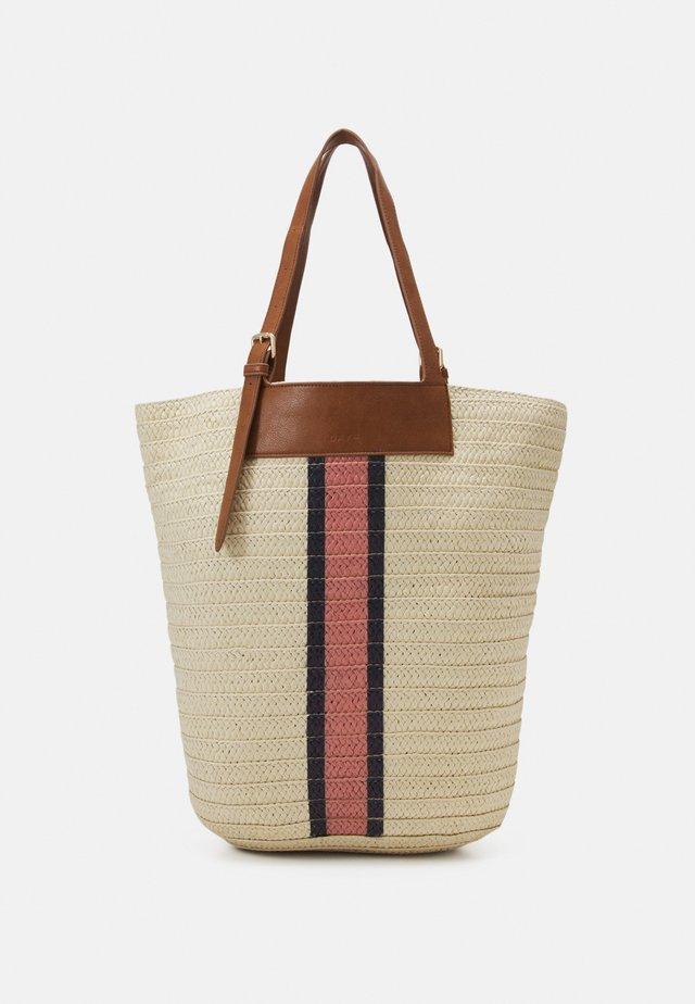 DAY STRIPEY BAG - Tote bag - whitecap gray