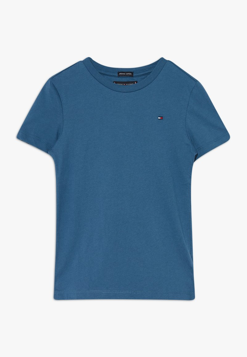 Tommy Hilfiger - ESSENTIAL ORIGINAL TEE - Jednoduché triko - blue