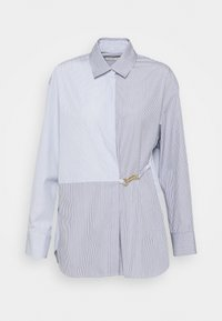 sandro - MADDLY - Button-down blouse - marine/ecru - 3