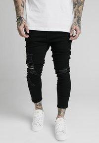 SIKSILK - ULTRA DROP CROTCH - Jeans Skinny Fit - black - 0
