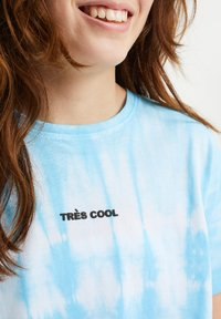 WE Fashion - Triko spotiskem - light blue - 2