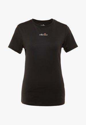 APRILLA - Print T-shirt - black