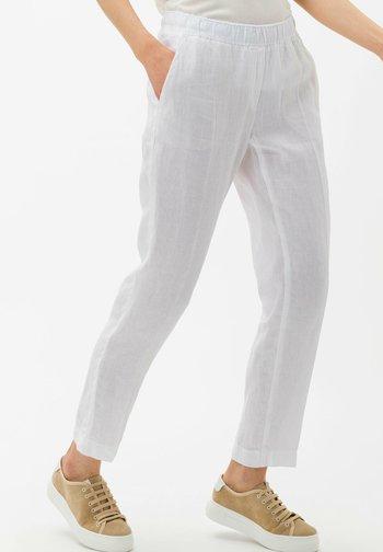 STYLE MARON - Trousers - white